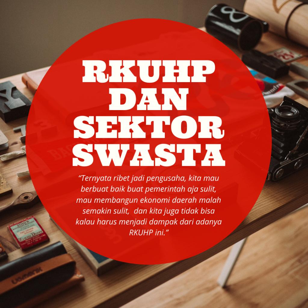 RKUHP dan SEKTOR SWASTA (1)